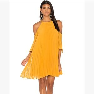 B.B. Dakota Gretel dress in royalty yellow